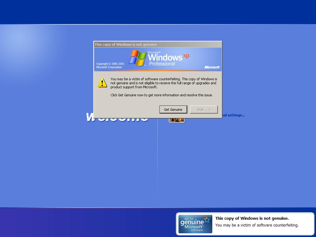 Nyin92 Blog39;s quot;: Crack Genuine Windows XP